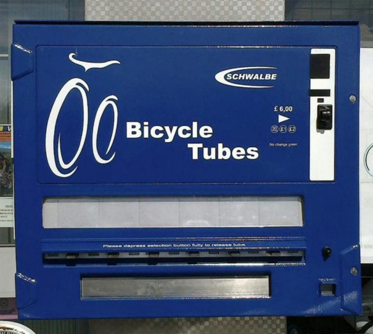 Inner Tube Vending Machines Grease Monkey Cycles